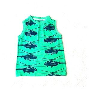 2T Helicopters tank top